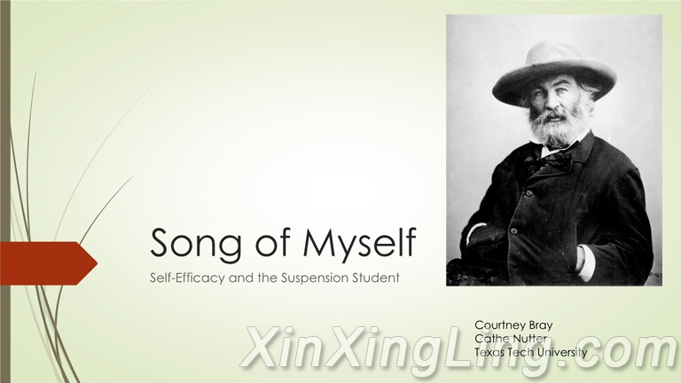 "自我之歌(""Song of Myself"")节译"